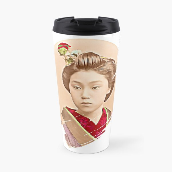 Beautiful Japanese Girl - Maiko  Travel Mug