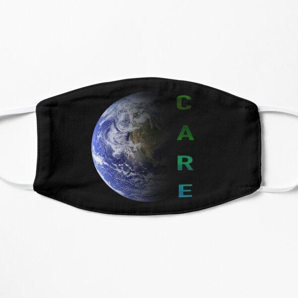 No Planet B Flache Maske