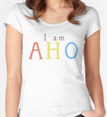 Yuru Yuri: I am AHO Women's Fitted Scoop T-Shirt