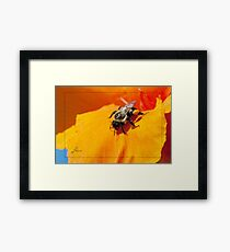 Pollen Fuel Framed Print