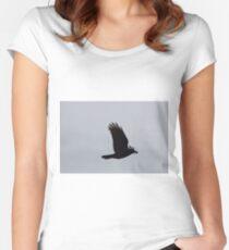 Black Bird Women's Fitted Scoop T-Shirt