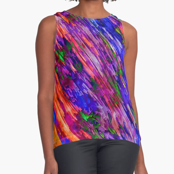 Savannah Heatwave Sleeveless Top