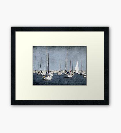 Dock of the Bay © Framed Print