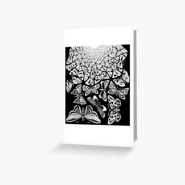 Butterflies Tessellation 1950 - Maurits Cornelis Escher Greeting Card