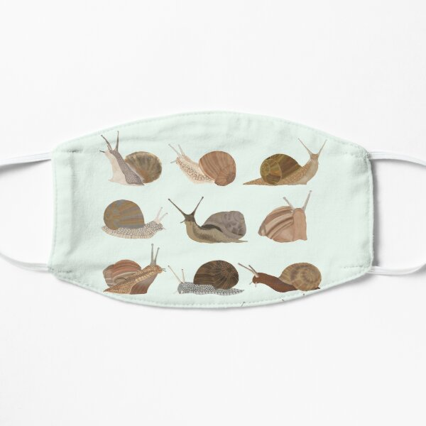 Snails Flat Mask