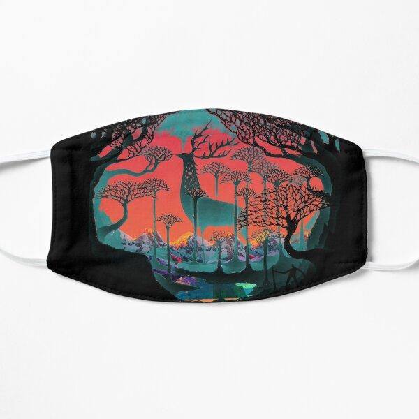 Esprit de la forêt - Illustration des terres boisées Masque sans plis