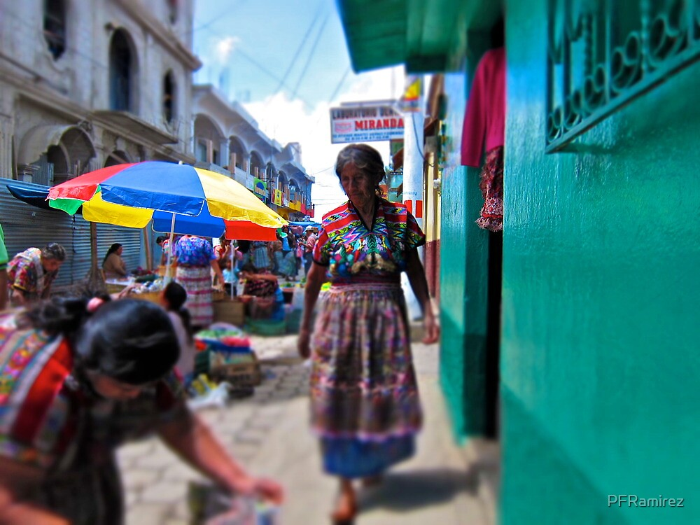 Market Day, Comalapa by PFRamirez