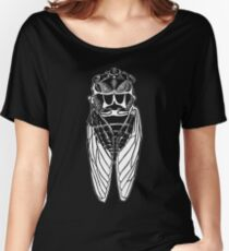 Cicada-front Women's Relaxed Fit T-Shirt