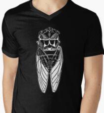 Cicada-front Men's V-Neck T-Shirt