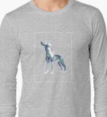 Dog Mauve Green E T-Shirt
