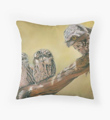 The Mentor Throw Pillow