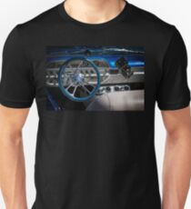 Black Dice and A Glitter Steering Wheel Unisex T-Shirt