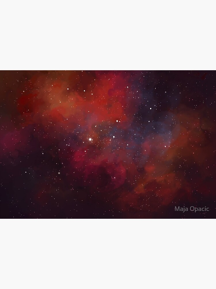 Space Fox Nebula by majaopacic