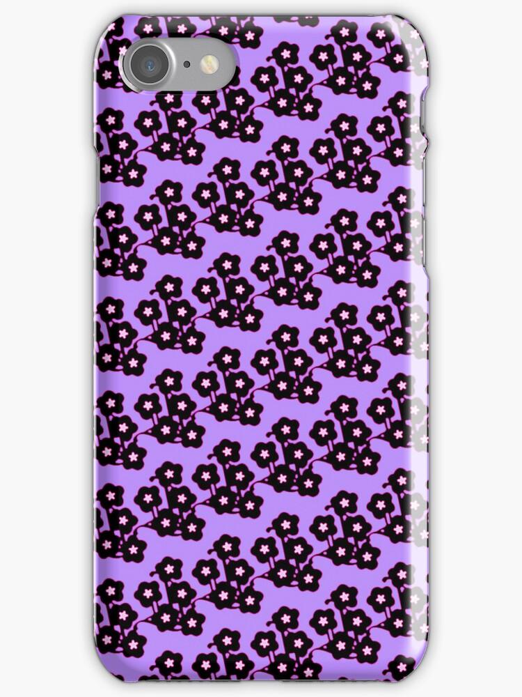purple springtime blossoms by offpeaktraveler