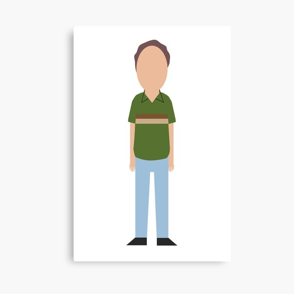 Minimalist Jerry Canvas Print