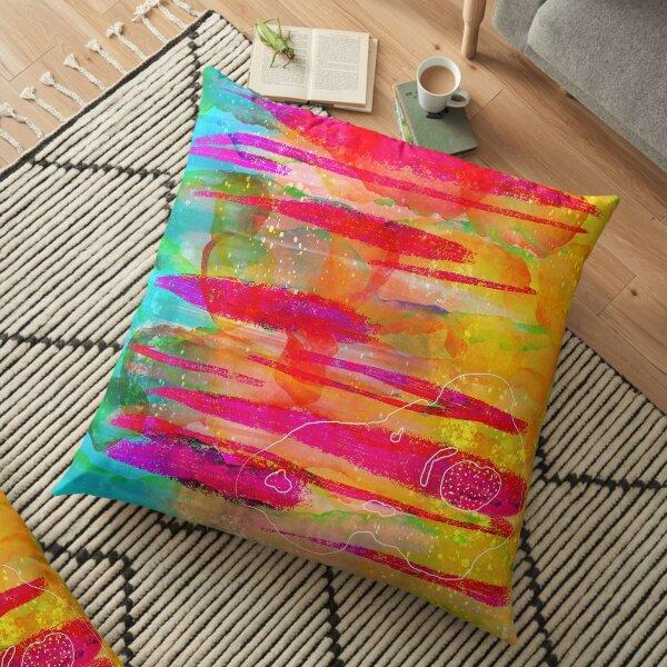 Pillars of ideation Floor Pillow