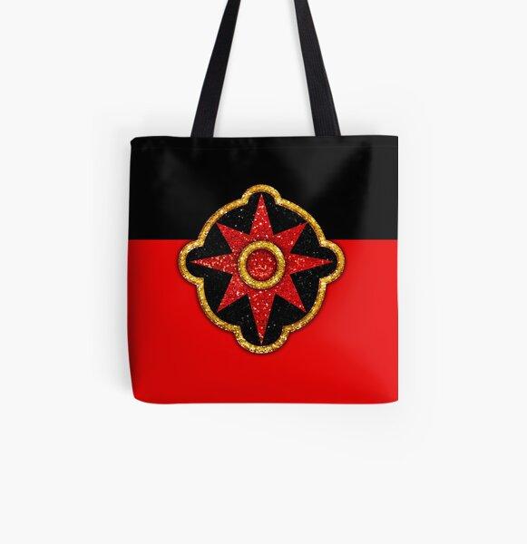 Flash Gordon Symbol All Over Print Tote Bag