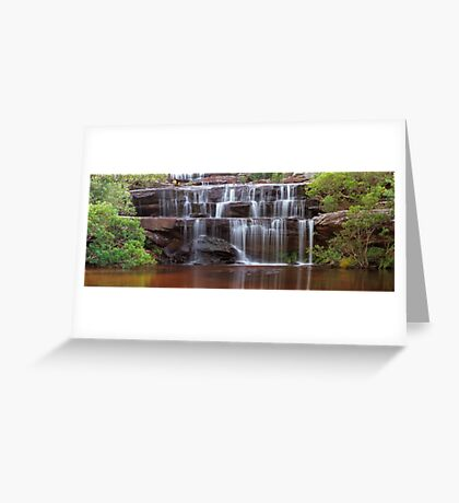 Journey to the Lagoon Greeting Card