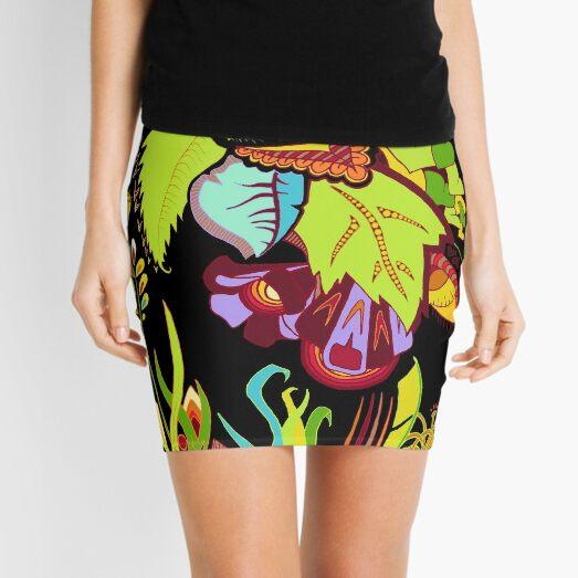 Life of Plants Doodle Mini Skirt