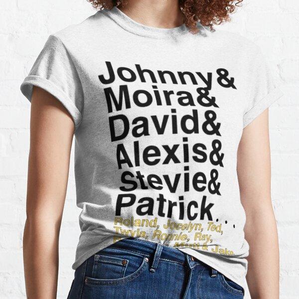 Names - blk Classic T-Shirt