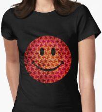 Smiley face - Escher graphic pattern T-Shirt