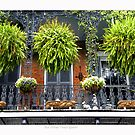 French Quarter Balcony by Sandra Russell