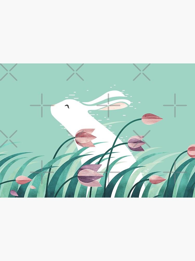 Rabbit, Resting by littleclyde
