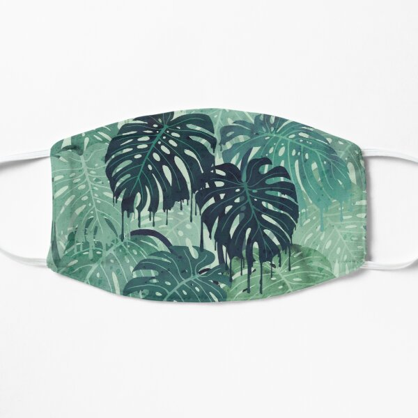Monstera Melt (in Green) Mask