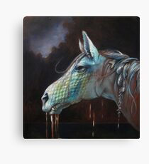Dripping in the Dark Water Canvas Print
