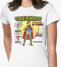Uberman Women's Fitted T-Shirt
