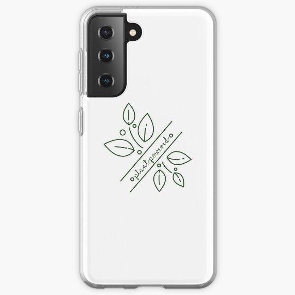 plant powered  Samsung Galaxy Soft Case