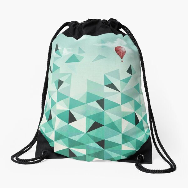 Emerald City (Blue Sky Version) Drawstring Bag