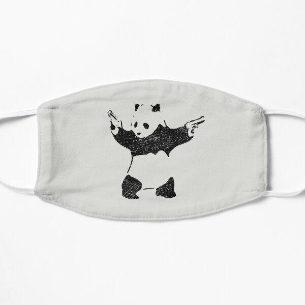 Panda with Guns (distressed design) Mask