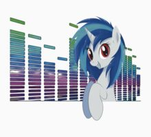 Vinyl Scratch Poppin out