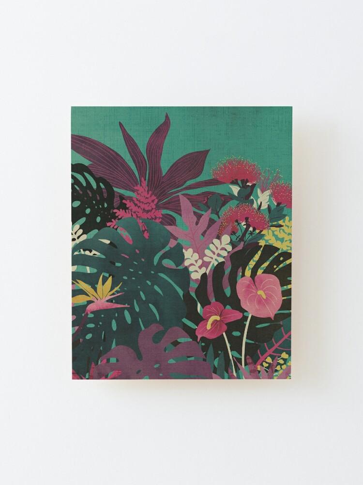 Alternate view of Tropical Tendencies Mounted Print