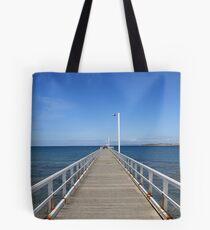 Point Lonsdale Pier - Victoria, Australia Tote Bag