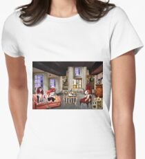 LOST IN DOLL LAND Womens Fitted T-Shirt