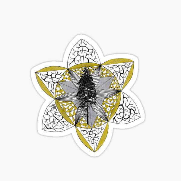 Shinrin-yoku Art - Trees Collection I Sticker