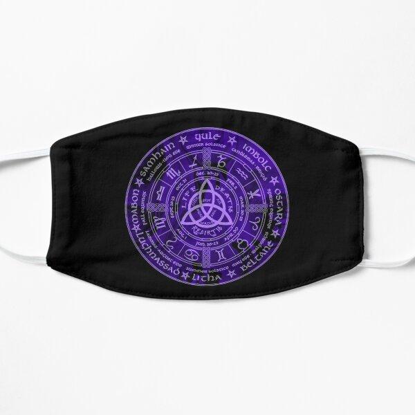 Celtic Pagan Year Wheel Calendar Mask
