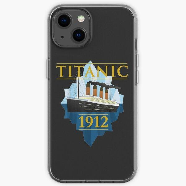 Titanic Sailing Ship Vintage CruisVessel 1912   iPhone Soft Case