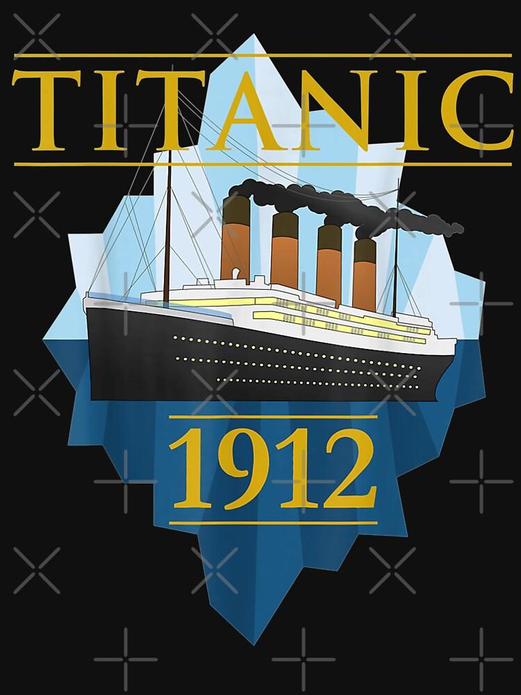 Titanic Sailing Ship Vintage CruisVessel 1912   by DailonisDumpji