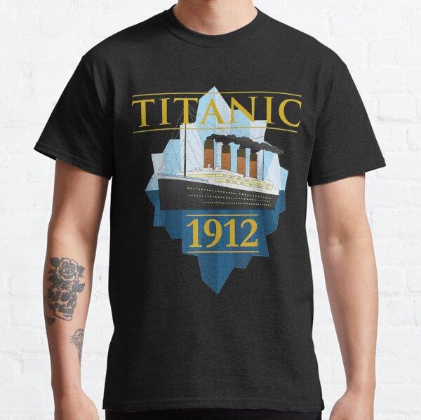 Titanic Sailing Ship Vintage CruisVessel 1912   Classic T-Shirt