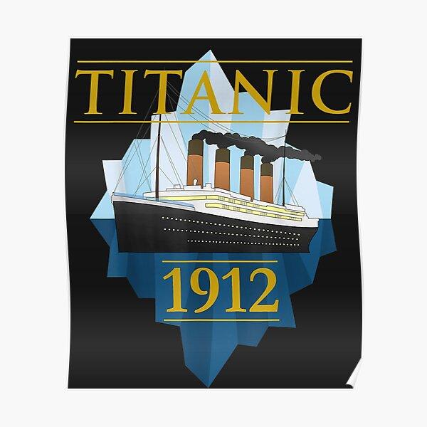 Titanic Sailing Ship Vintage CruisVessel 1912   Poster