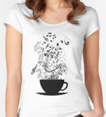 Cup of Music Women's Fitted Scoop T-Shirt