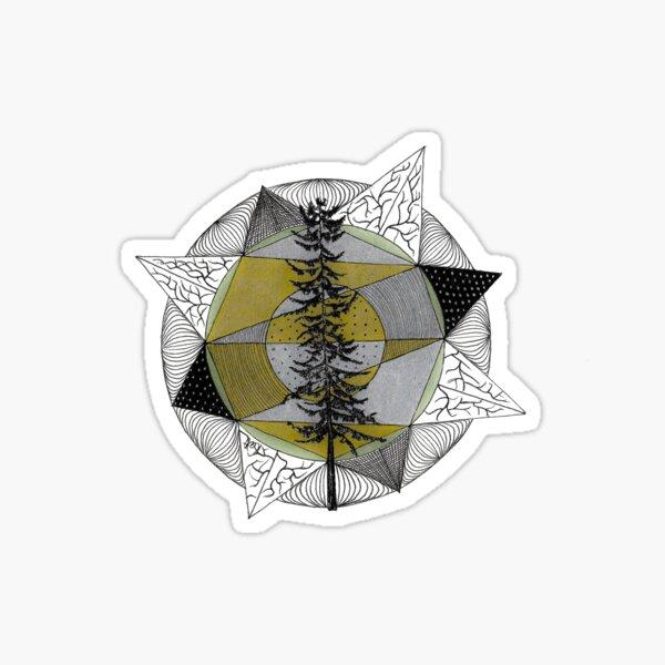 Shinrin-yoku Art - Trees Collection II Sticker