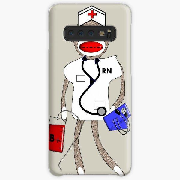Sock Monkey Nurse Samsung Galaxy Snap Case