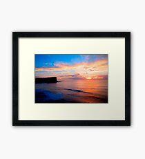 Avalon Sunrise HDR Framed Print