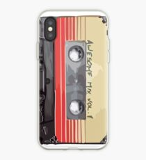 Awesome Mix retro tape iPhone Case