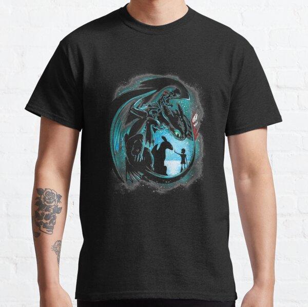 Yesterday and Tomorrow Love Dragon men women gamer Classic T-Shirt