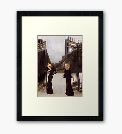M Blackwell - Please, Come This Way... Framed Print